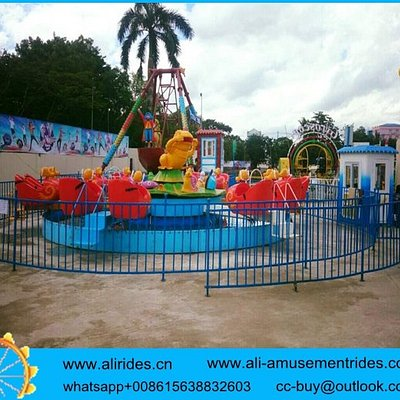 amusement rides factory ALI BROTHERS