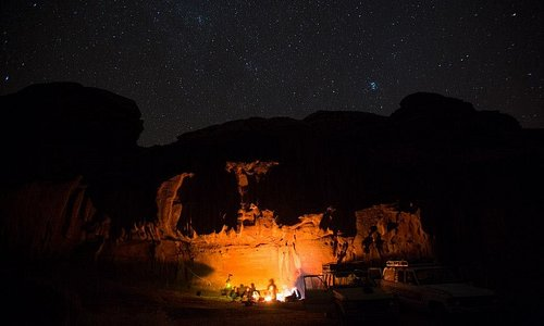 bivouac/camping / sleeping under the stars