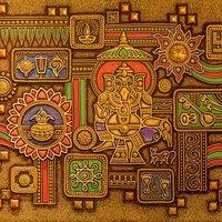 Art work from Jaipur Emporium