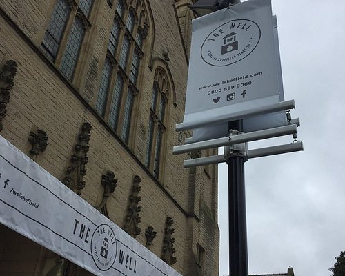 Look out for our signs 'Serving Sheffield since 2015'