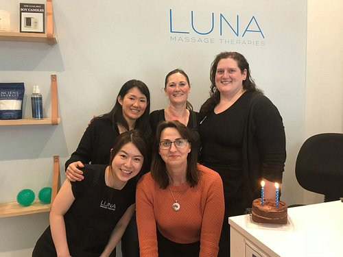 Some of the LUNA Therapists.