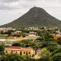 Hooiberg from the Top of Casibari Rock Formation