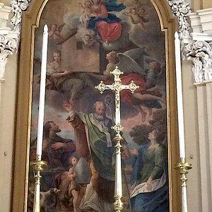 Chiesa San Nicola di Bari: altar mor