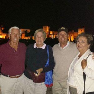 A happy night in Granada.