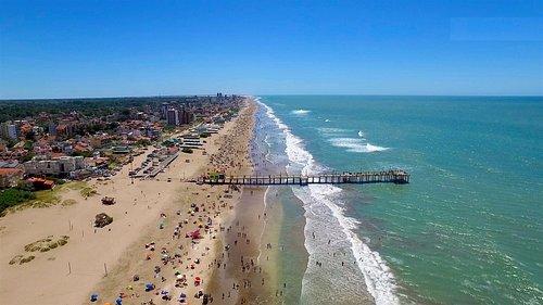 Vista aerea de la playa