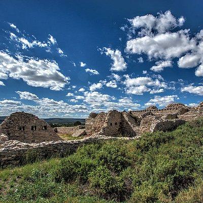 The Gran Quivira ruins