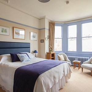 Our blue bedroom