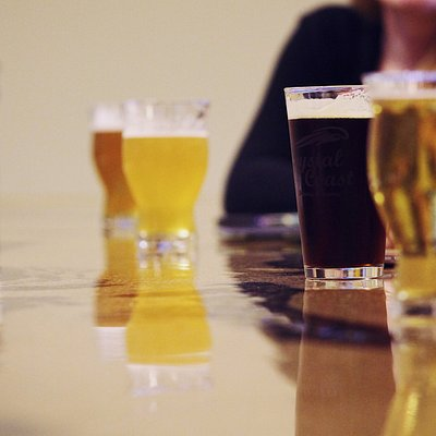 We feature many different styles and varieties of beer on tap. We also have wine, cider, and sod