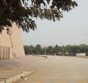 Outside stadium Building