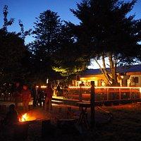 Fogon y terraza del Huairavo