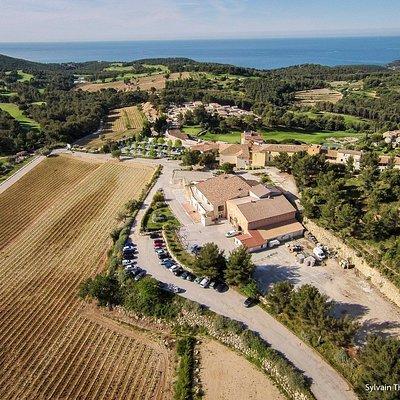 Domaine de Frégate - Vue sur mer, 30 hectares de vignes
