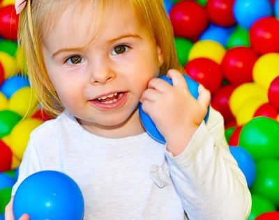 Our ball pit is a favourite with all ages!