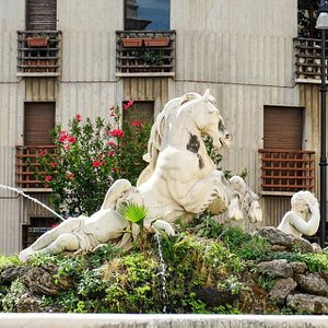 Fontana del Cavallo Marino