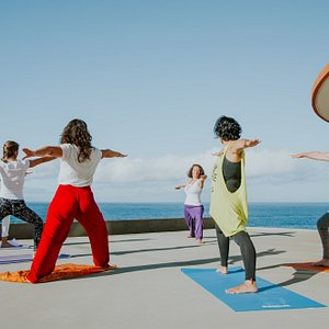 Yoga with Ocean View