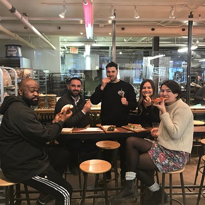 Pizza stop at Toronto's BEST Italian Bakery!