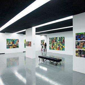 main exhibition room