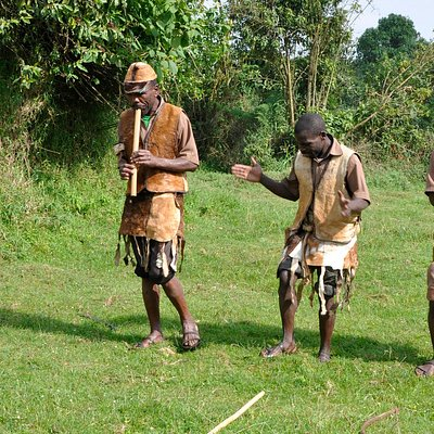 These were the guys that led us through the Batwa way of life.