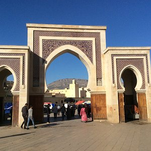 The view of Bab Rcif from Place Rcif
