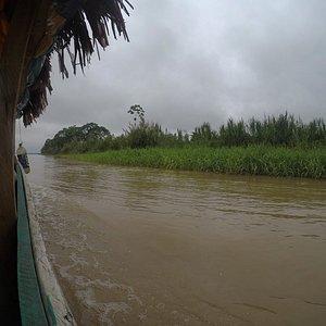 navegando por la reserva