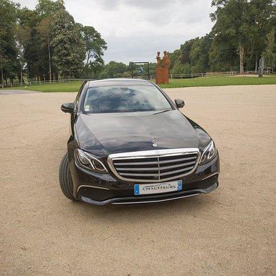 Mercedes Class E - VTC Rennes - Chauffeur Privé Bretagne pour vos tous vos déplacements.