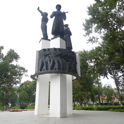 border guard monument- soldier