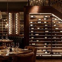 Fine wine display