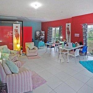 cozy boutique environment - located in Cabarete.