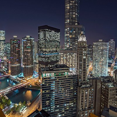 Chicago Cityscape From Above