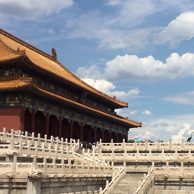 The Hall of Supreme Harmony which is the centre of the Forbidden City