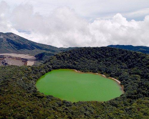 Bottos Lagoon, at Poas Volcano National park.