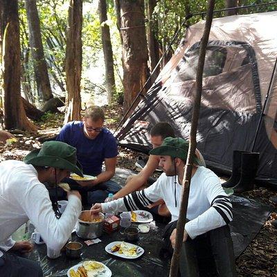 Pacaya Samiria Camping