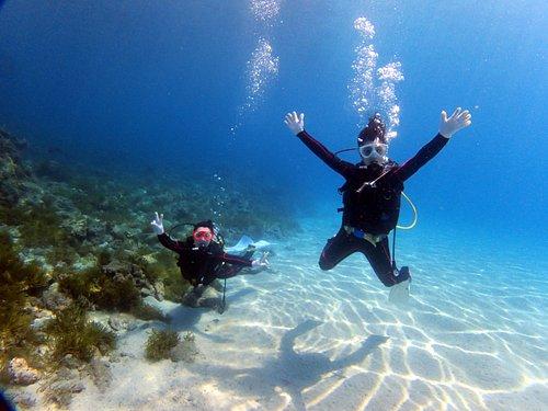 透明度抜群の屋久島の海でLet's Diving!