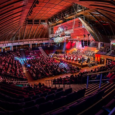 The Grand Hall at Preston Guild Hall (Photo credit Mick Porter)