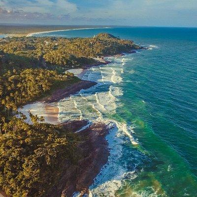 Foto das 4 praias urbanas em Itacaré