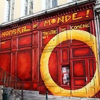 Le nOmbril du mOnde - Théâtre de cOmédie