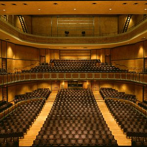 The George Weston Recital Hall is widely recognized as one of Canada's best recital halls.