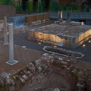 Templo de Isis. Siglo I d.C.