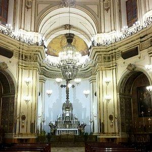 Interno della chiesa di S. GIuliano