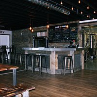 Taproom with full sampling and purchase of local fresh craft beer