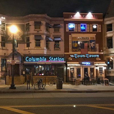 Columbia Station in Adams Morgan area of DC
