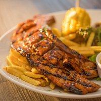 BBQ Glazed Pork Belly