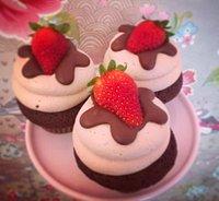 Cupcake Nutella&Fragola