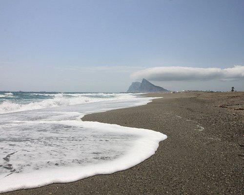Einsamer Strand im August - Playa de la Atunara