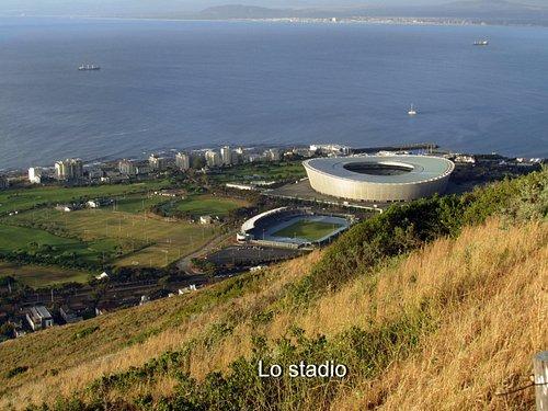 Panorama dello stadio