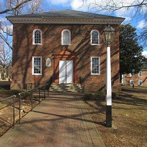 Church administrative building