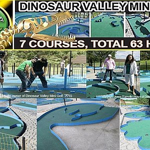 7 courses, total of 63 holes.  copyright josee dvmg 2018