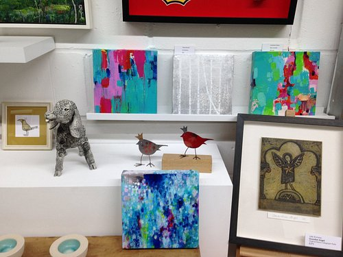 We work with an ever evolving collection of local and national artists