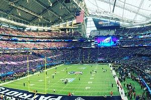 Prior to kickoff at the Super Bowl