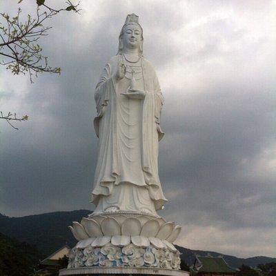 Lady's Buddha in Danang city
