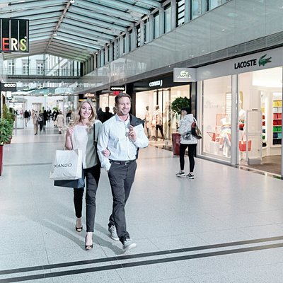 Shopping im Zentrum